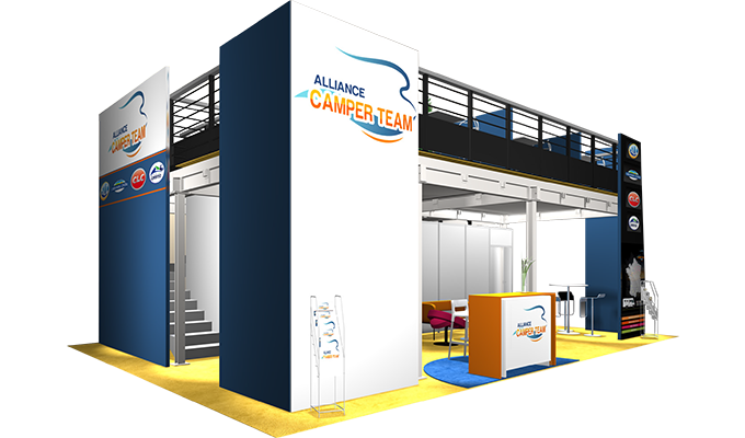 Stand Alliance Camper Team au salon VDL du Bourget 2018
